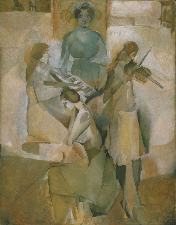 1026x1309 bức tranh Duchamp