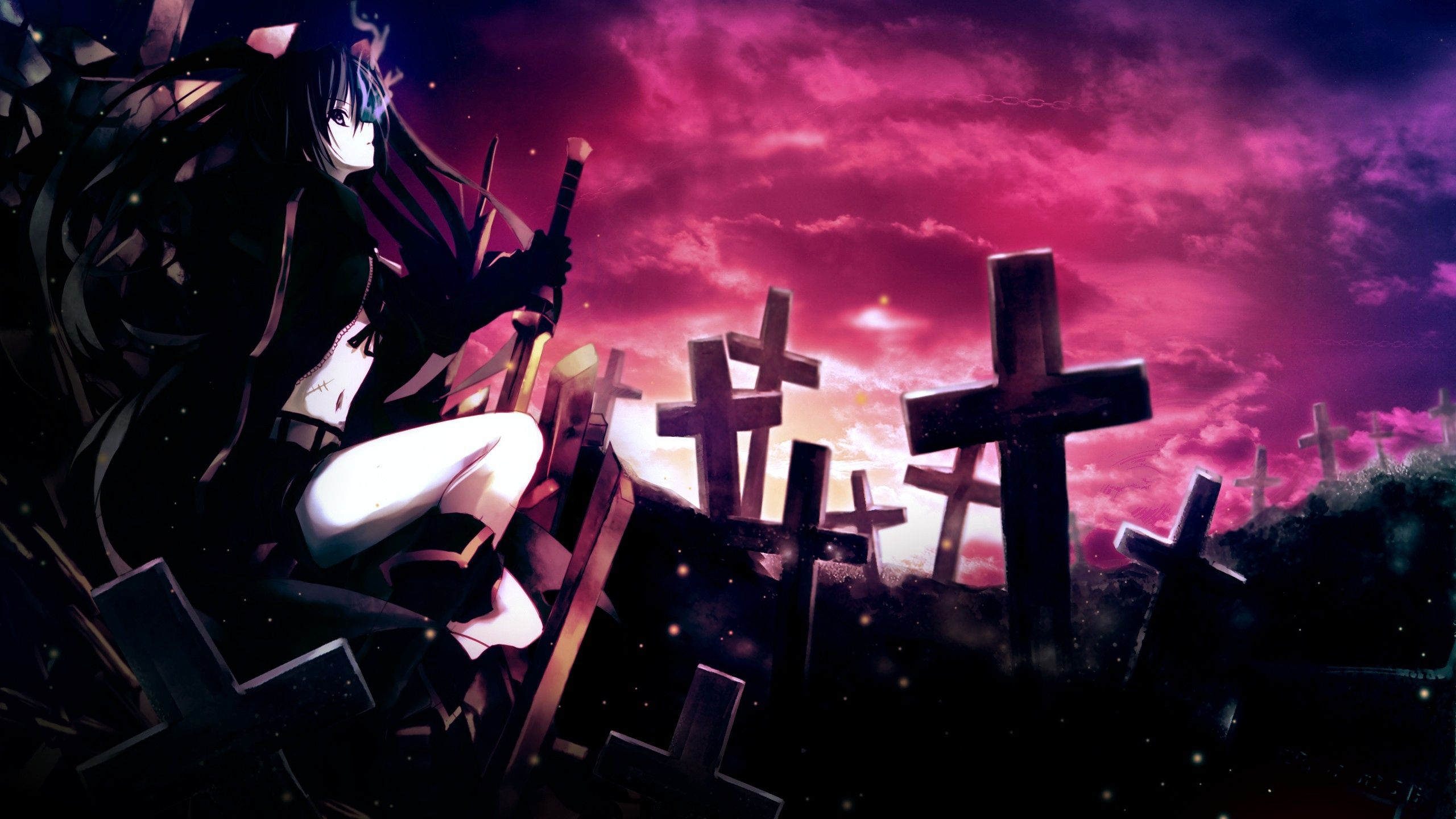 2560x1440 Anime Wallpapers Top Free 2560x1440 Anime Backgrounds Wallpaperaccess