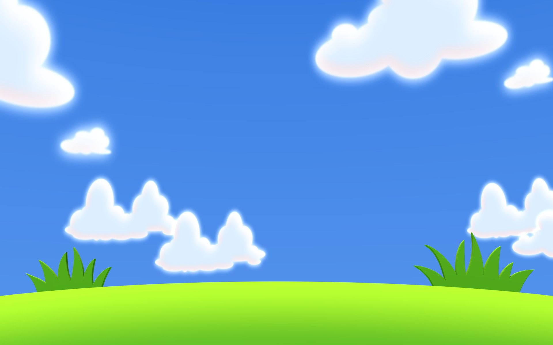 Download 105 Background Blue Cartoon Paling Keren