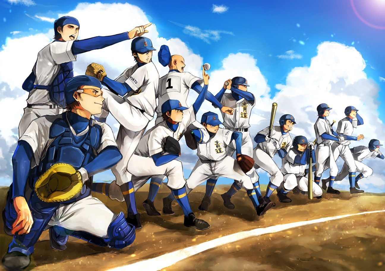 Ace Of Diamond Wallpapers Top Free Ace Of Diamond Backgrounds