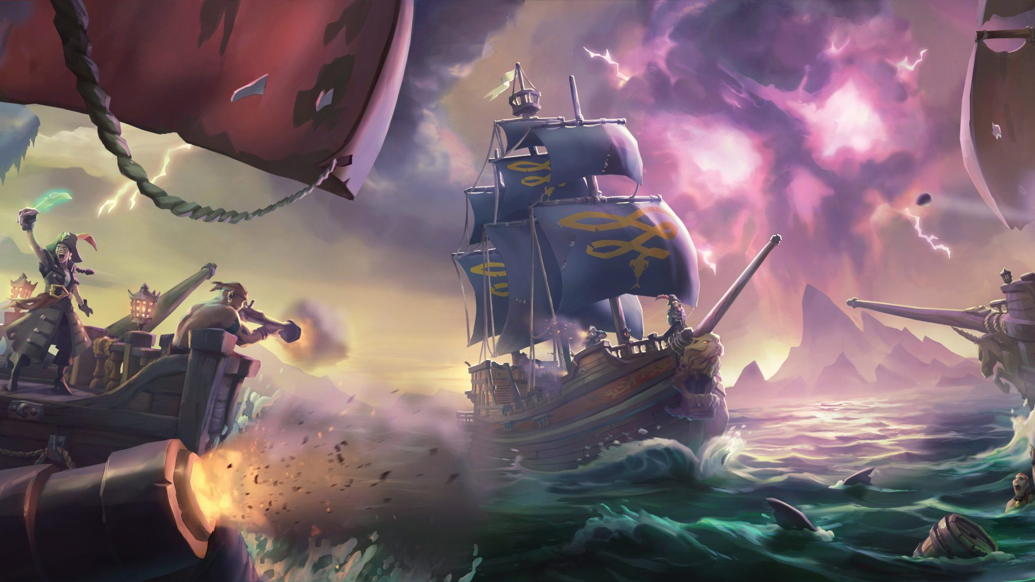 Sea Of Thieves Wallpapers Top Free Sea Of Thieves Backgrounds