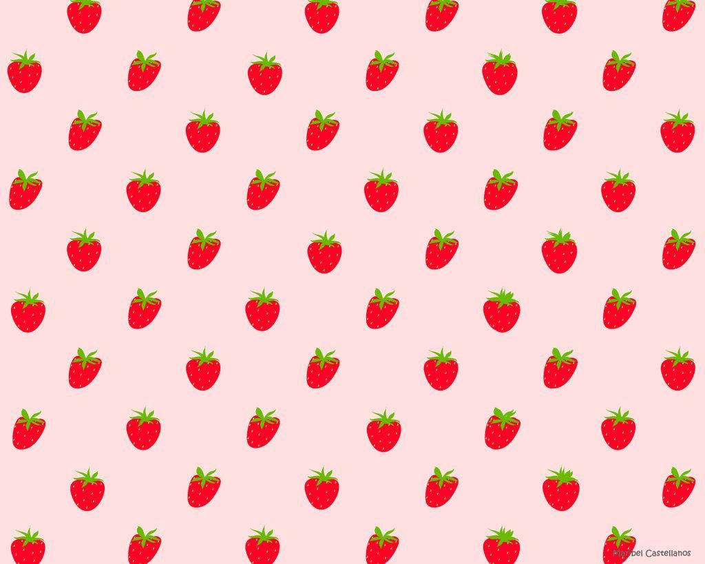 Cute Strawberry Wallpapers Top Free Cute Strawberry Backgrounds Wallpaperaccess Here are only the best pastel colors wallpapers. cute strawberry wallpapers top free