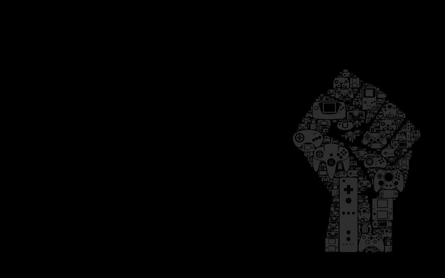 Black And White Gaming Wallpapers Top Free Black And White Gaming Backgrounds Wallpaperaccess
