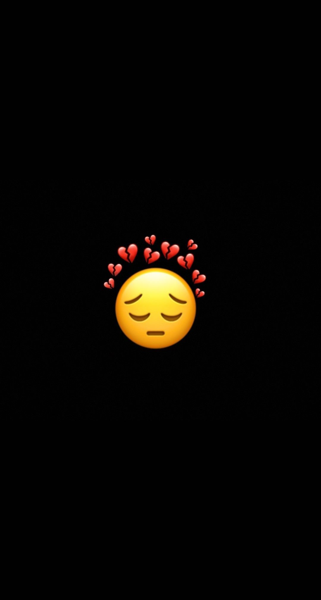 Dark Blue Dark Emoji Wallpaper