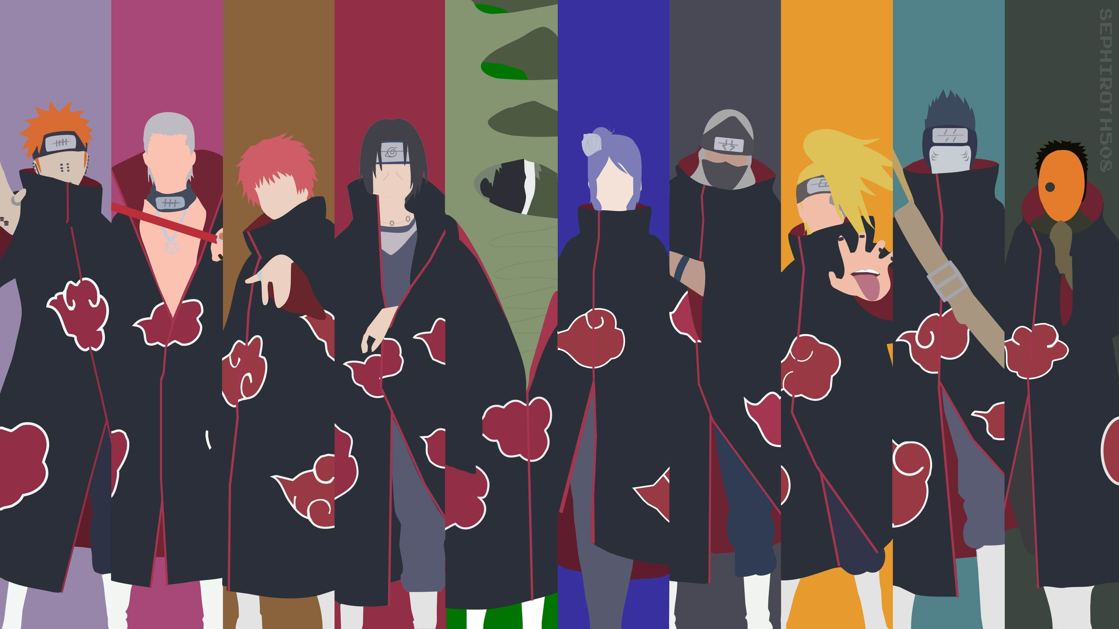 All Akatsuki Wallpapers Top Free All Akatsuki Backgrounds