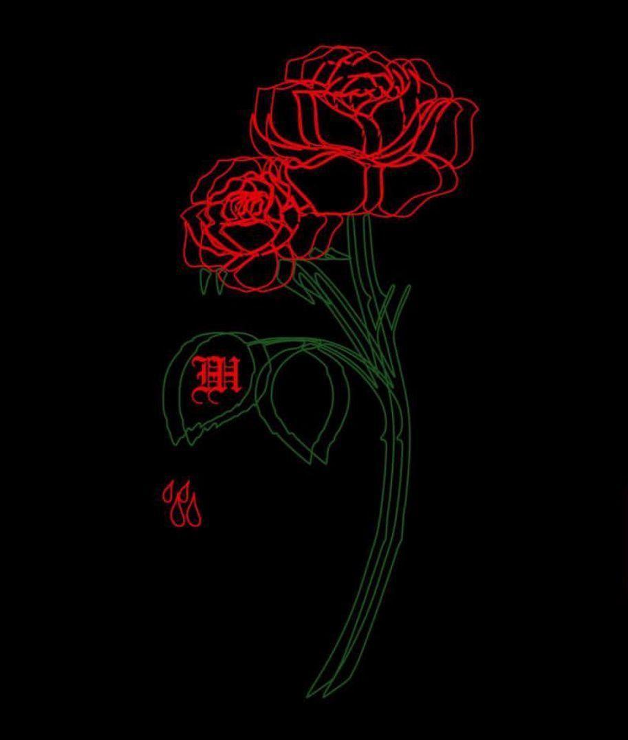 28+ Burning Rose Iphone Wallpaper - Bizt Wallpaper