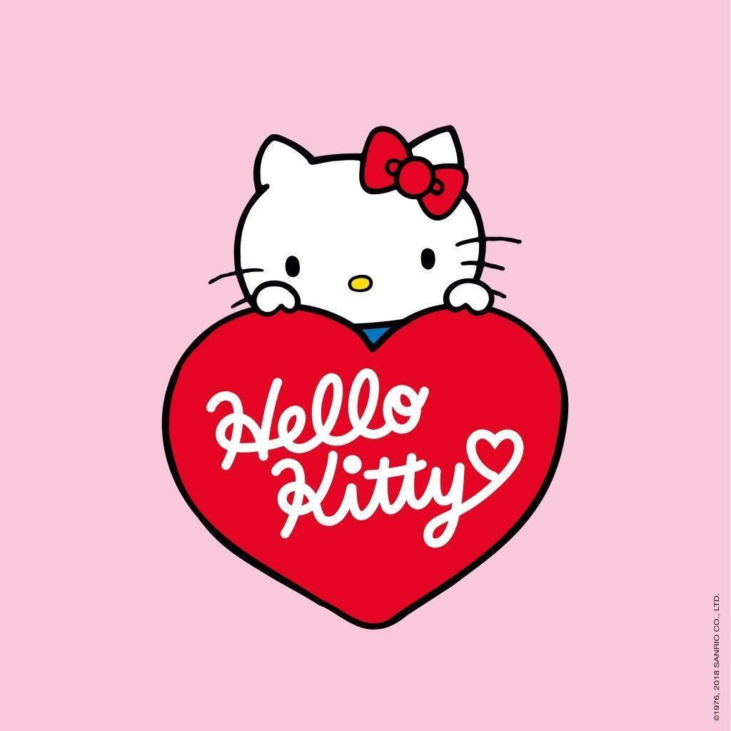 1024x1024 Happy Valentine's Day!♥. Hello Kitty. Hello kitty