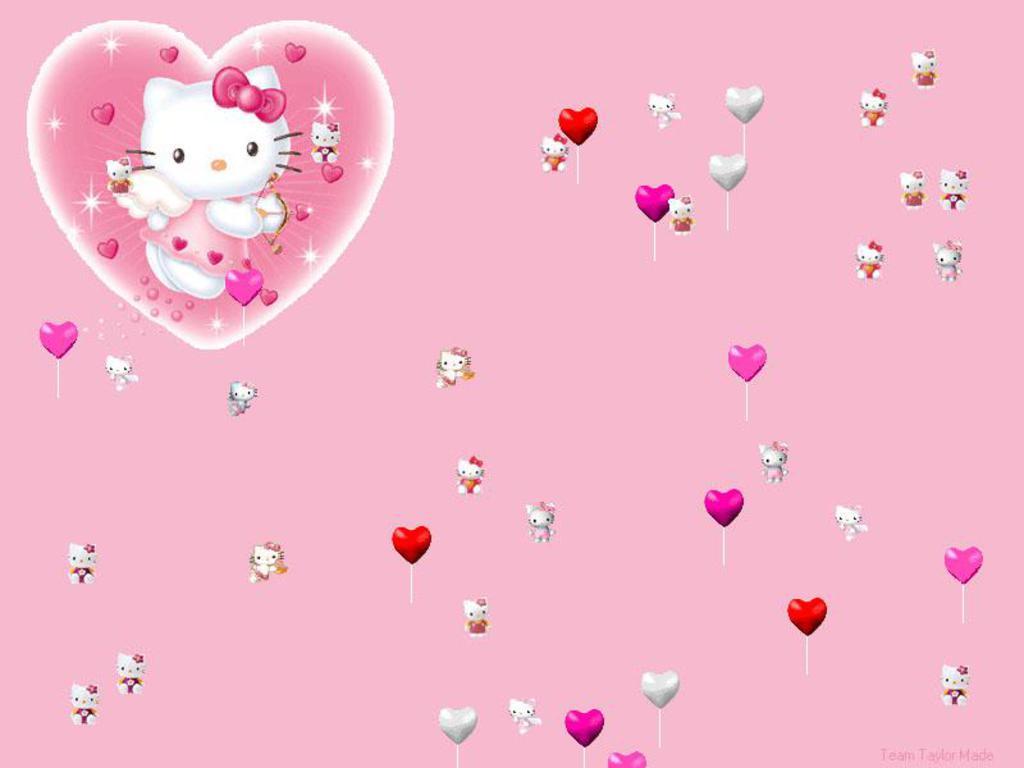 1024x768 Hello Kitty HD Background Image for Nexus 6 - Cartoons