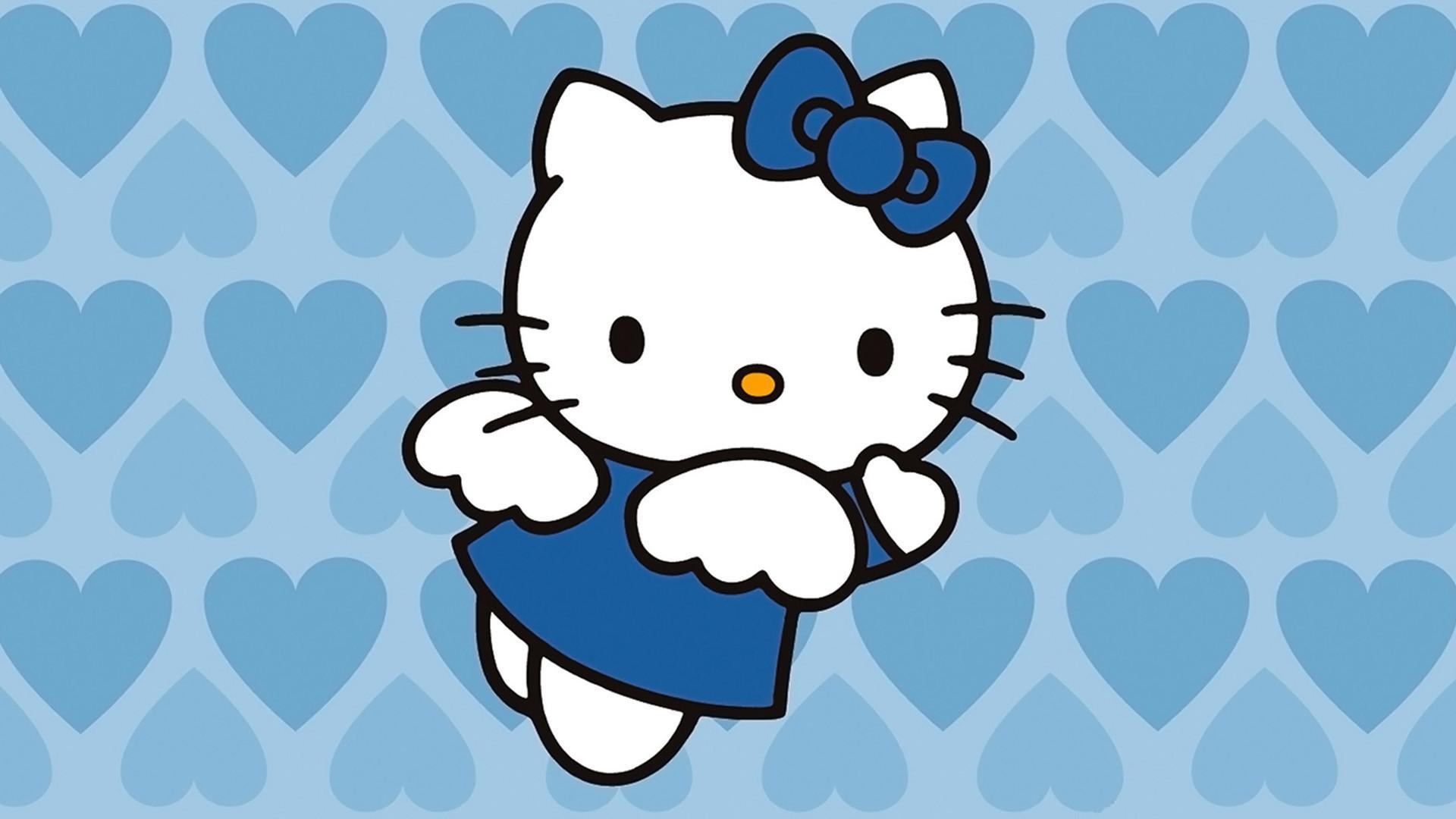 1920x1080 Hello Kitty Valentine Wallpaper