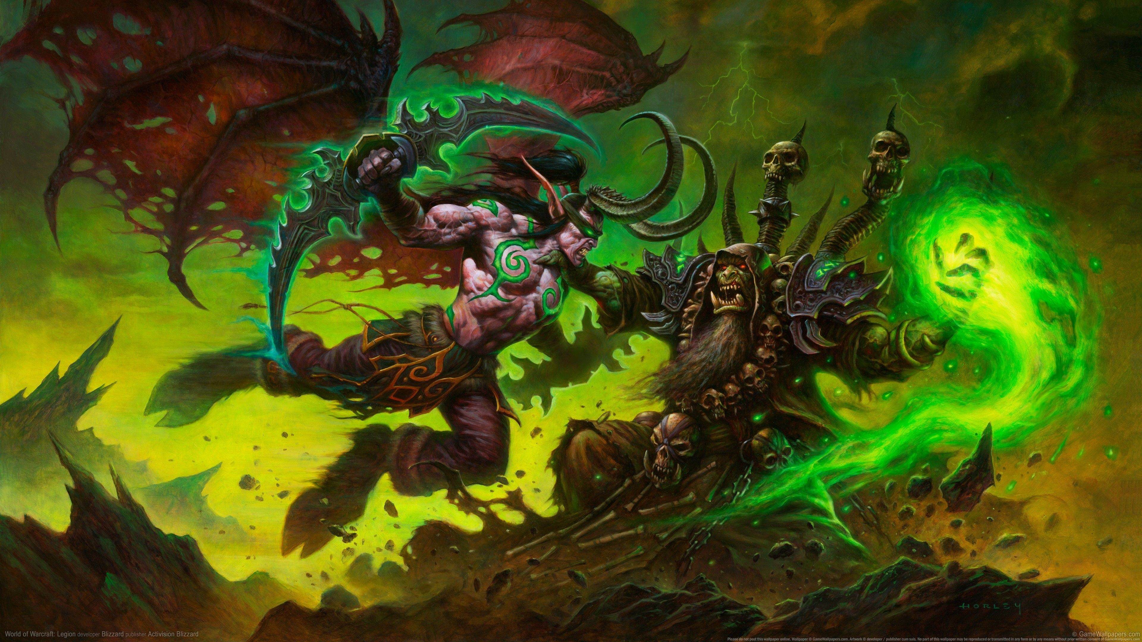 Illidan Wallpapers Top Free Illidan Backgrounds