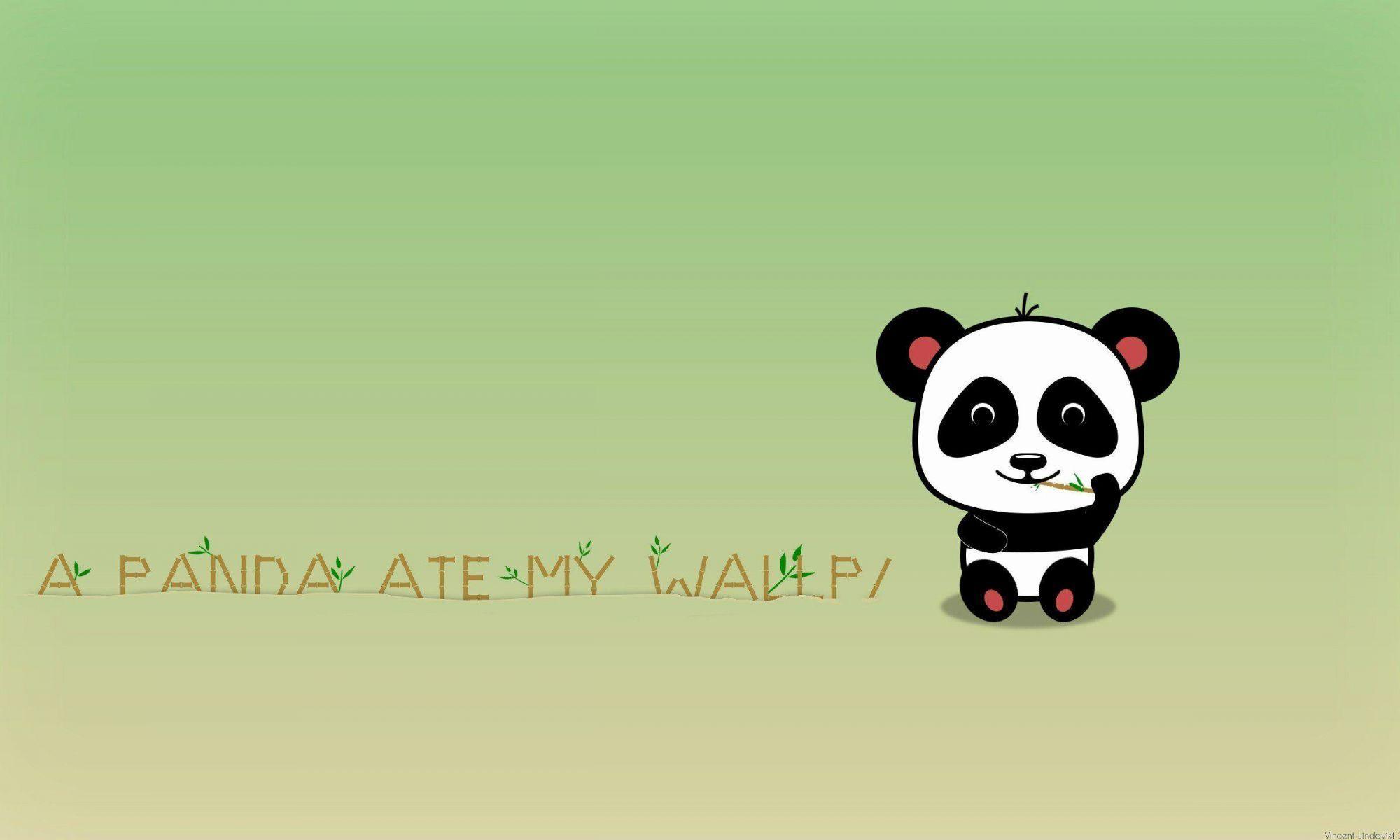 Cartoon Panda Wallpapers Top Free Cartoon Panda Backgrounds Wallpaperaccess