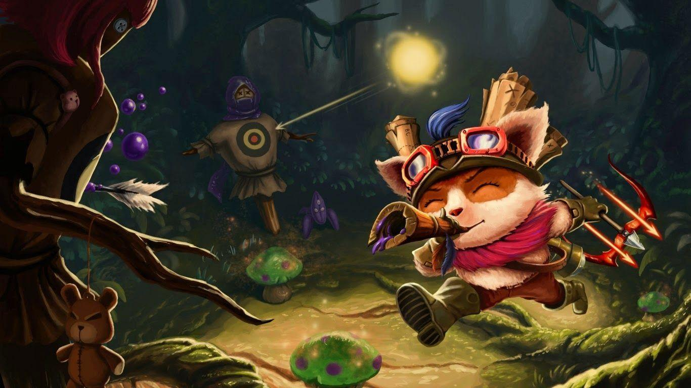 Teemo Wallpapers Top Free Teemo Backgrounds Wallpaperaccess