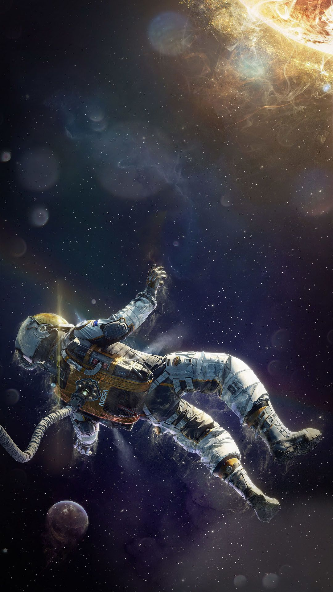 Astronaut Iphone Wallpapers Top Free Astronaut Iphone Backgrounds Wallpaperaccess