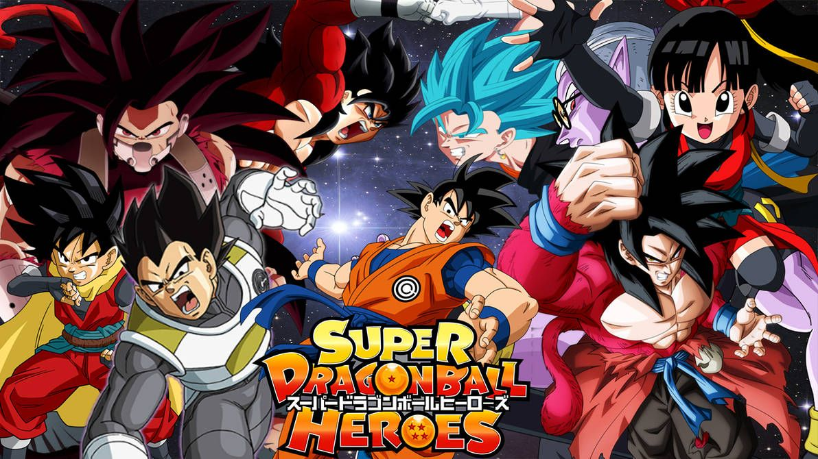 Super Dragon Ball Heroes Wallpapers Top Free Super Dragon