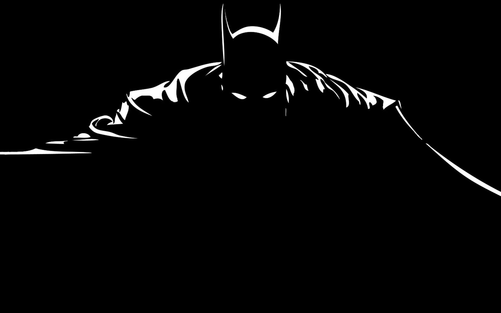 Batman Black And White Wallpapers Top Free Batman Black And