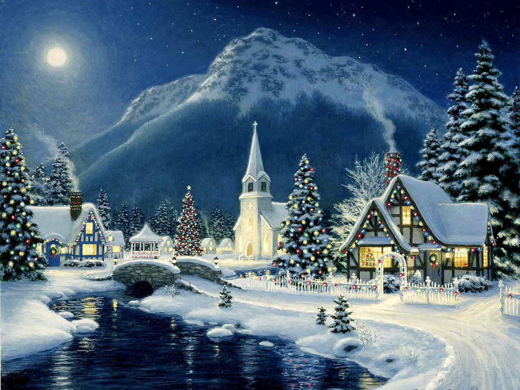 Christmas Town Wallpapers - Top Free