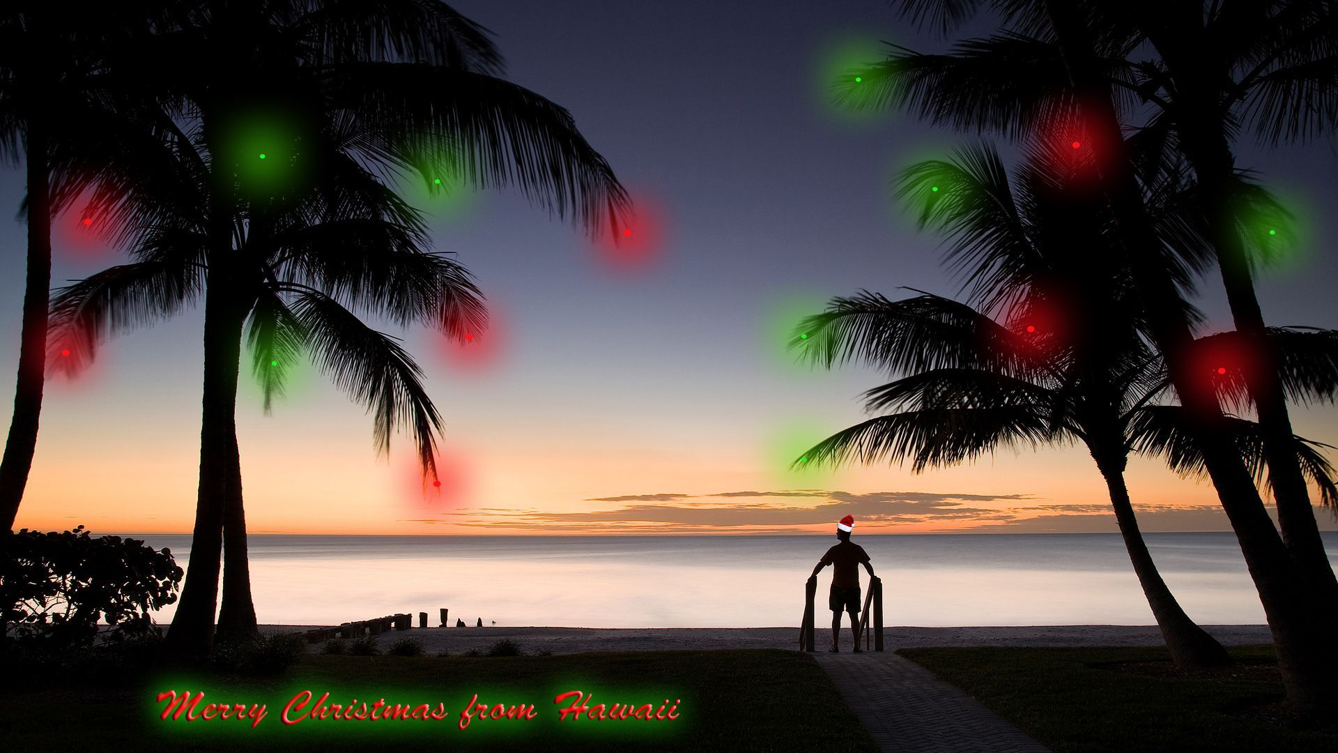 Hawaiian Christmas Wallpapers - Top