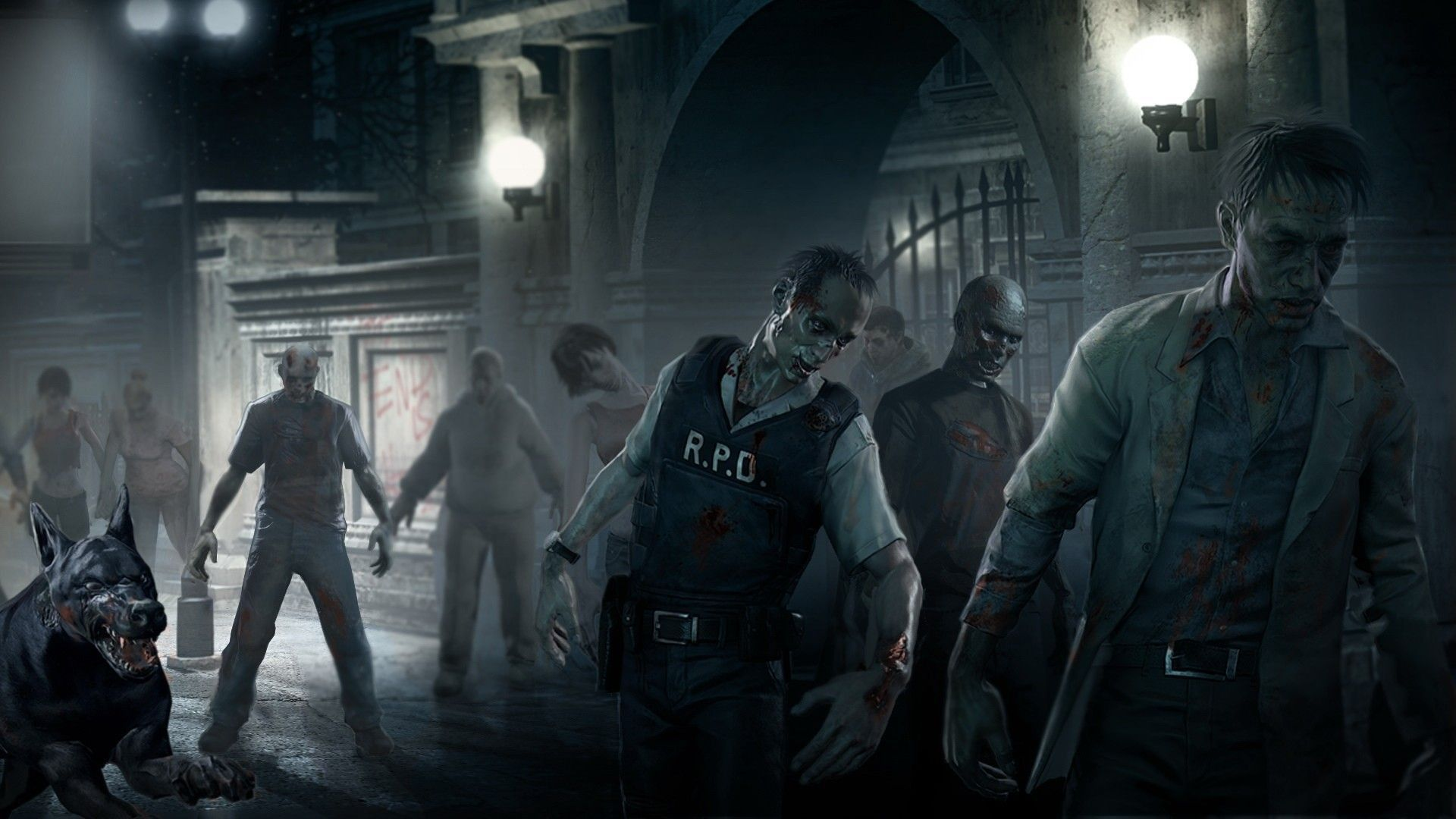 Zombies Wallpapers Top Free Zombies Backgrounds