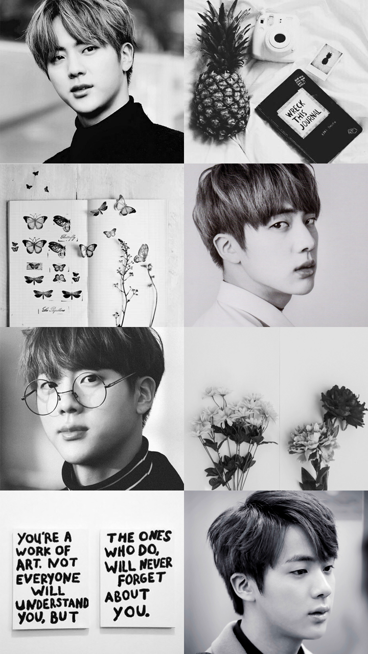 Jin Aesthetic Wallpapers Top Free Jin Aesthetic Backgrounds Wallpaperaccess