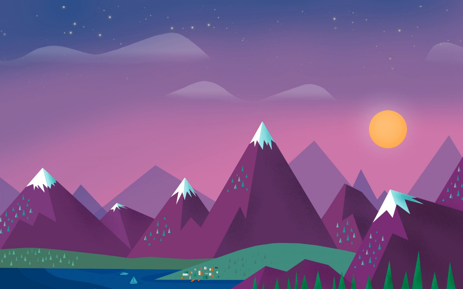 Simple Mountain Wallpapers Top Free Simple Mountain Backgrounds