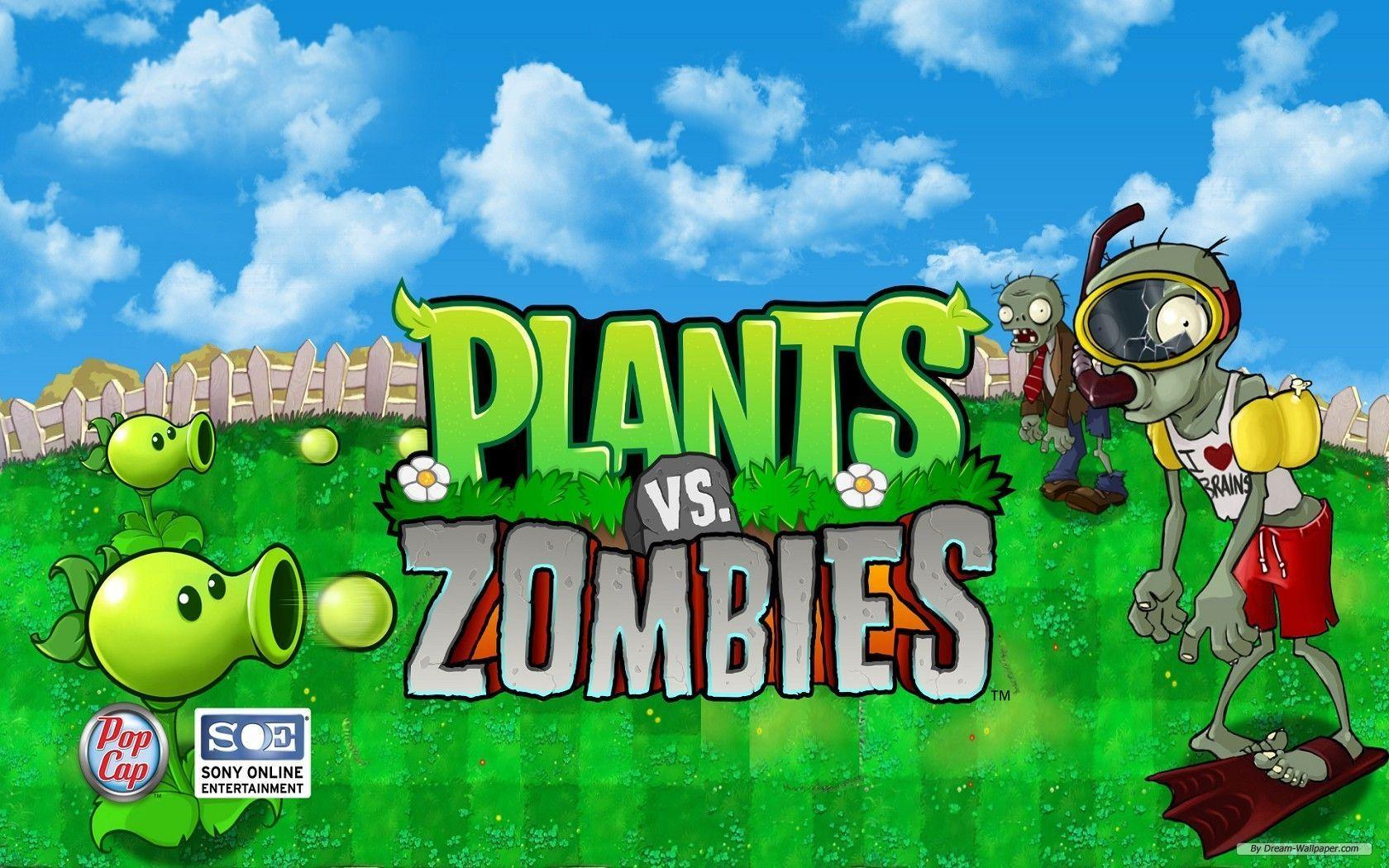 Plants Vs Zombies Wallpapers Top Free Plants Vs Zombies Backgrounds Wallpaperaccess