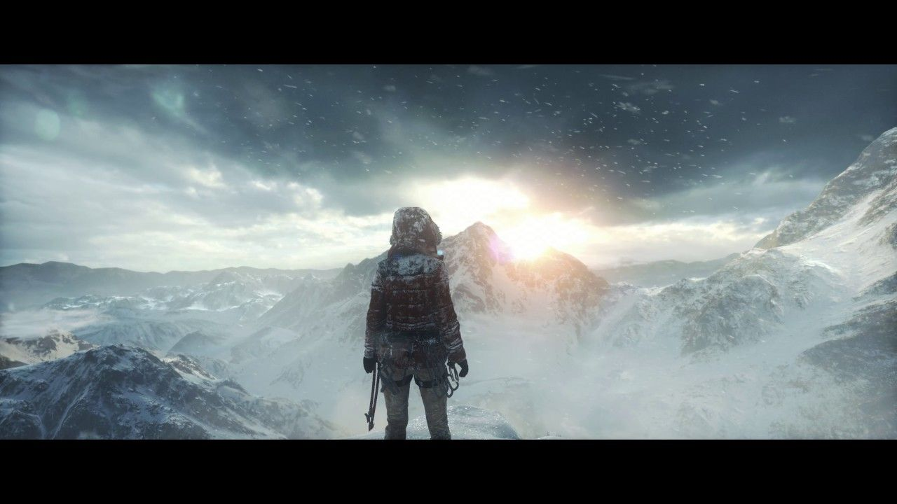 New tomb raider wallpapers top free new tomb raider - Rise of the tomb raider 4k wallpaper ...