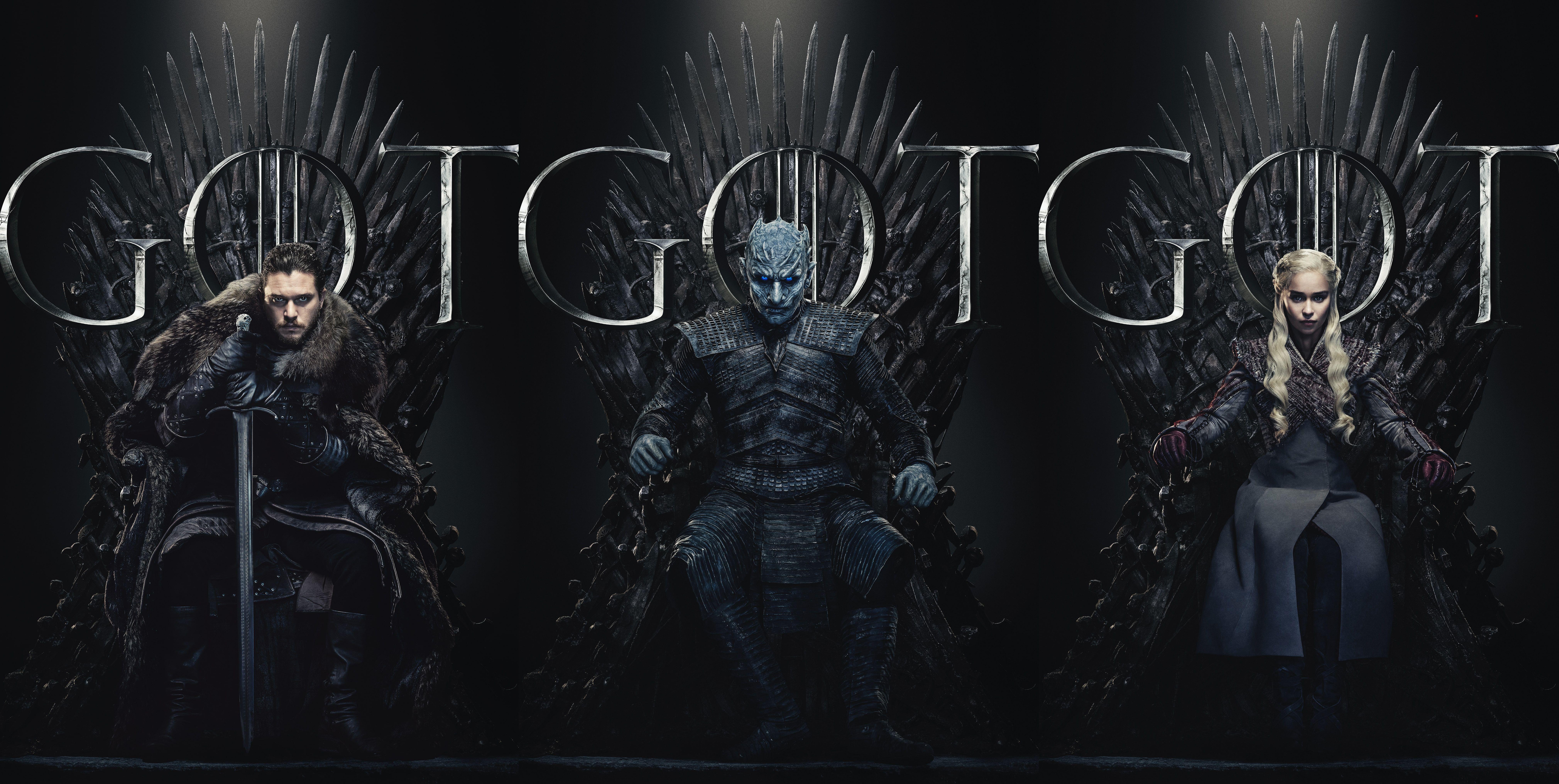 Ultra Hd Game Of Thrones Season 8 Wallpaper