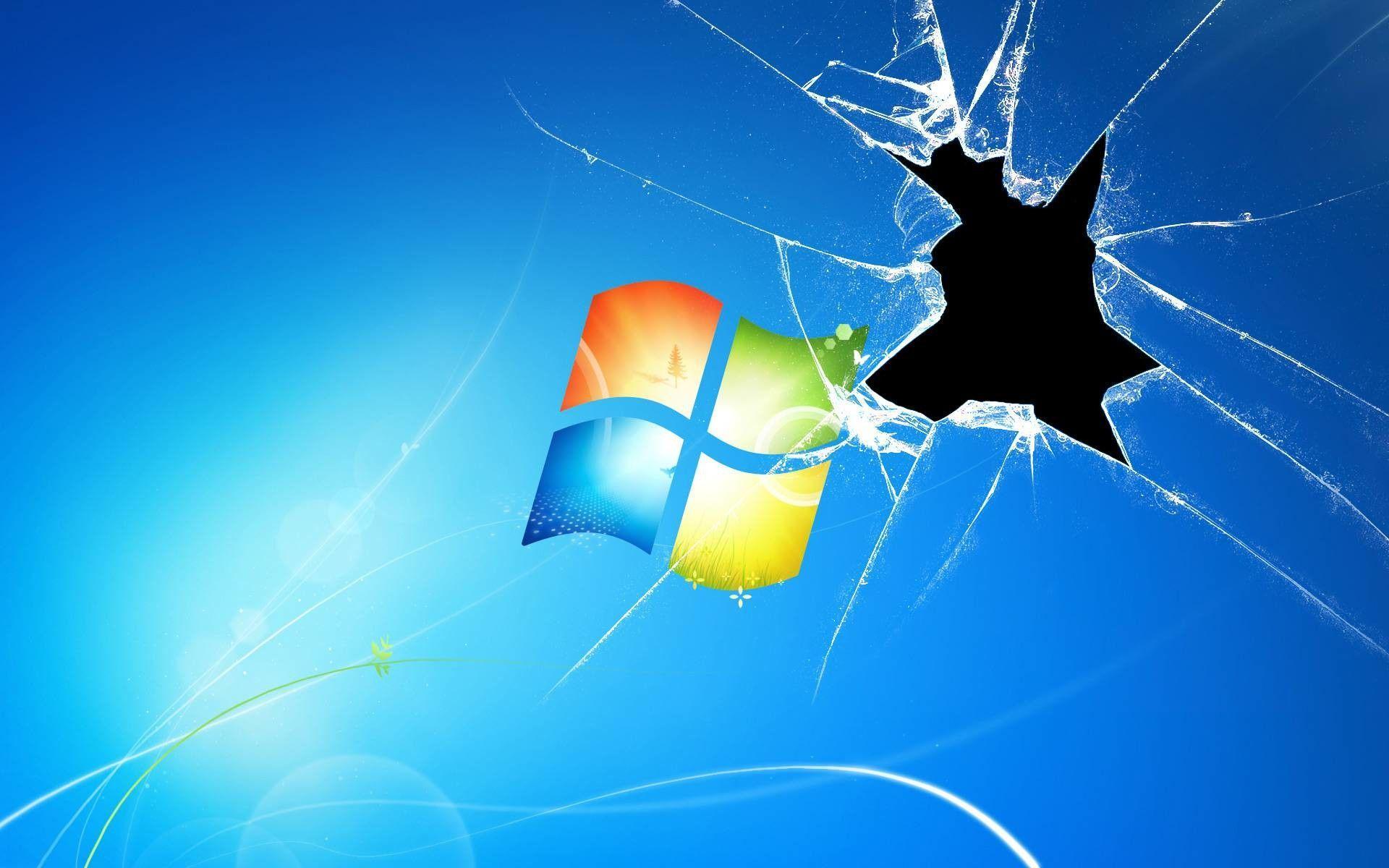 Hình nền màn hình nứt 1920x1200 Windows 10