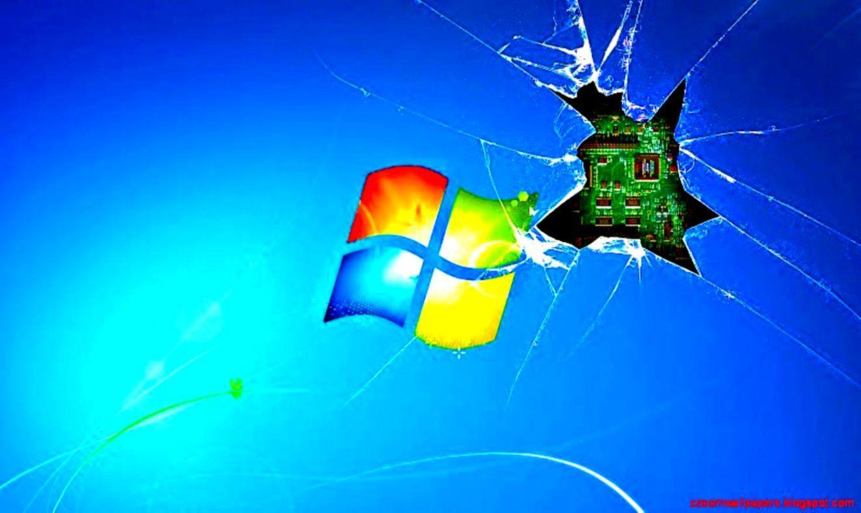 Hình nền màn hình bị hỏng 1324x789 Windows 7 HD