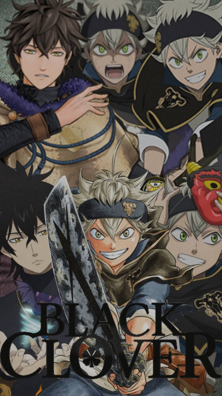 Black Clover Iphone Wallpapers Top Free Black Clover Iphone
