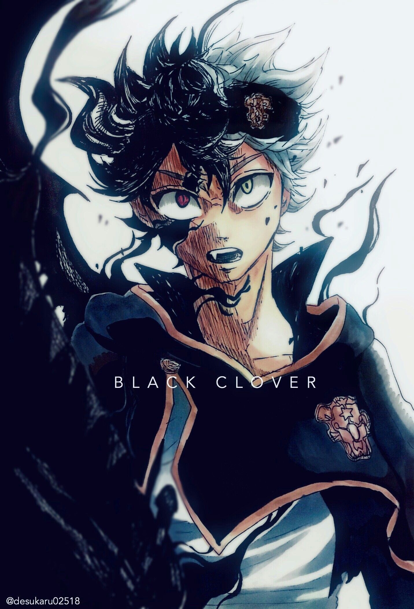 Black Clover iPhone Wallpapers - Top Free Black Clover ...