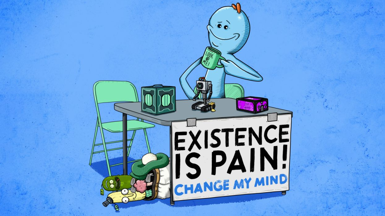 Mr Meeseeks Wallpapers Top Free Mr Meeseeks Backgrounds