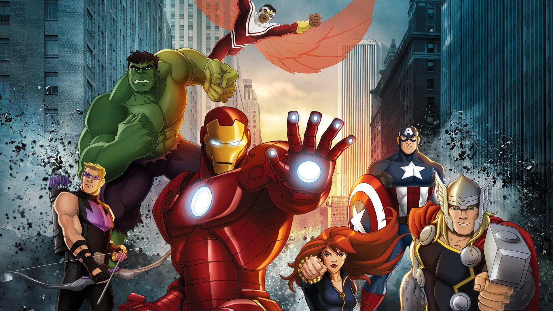 Avengers Assemble Wallpapers Top Free Avengers Assemble Backgrounds Wallpaperaccess