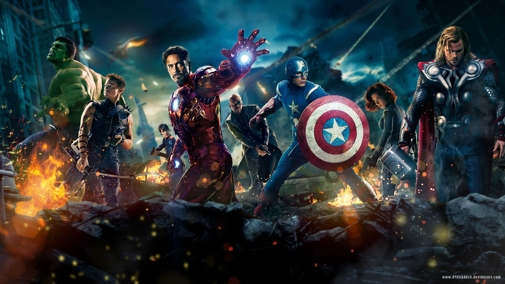 Cool Avengers Wallpapers - Top Free Cool Avengers Backgrounds