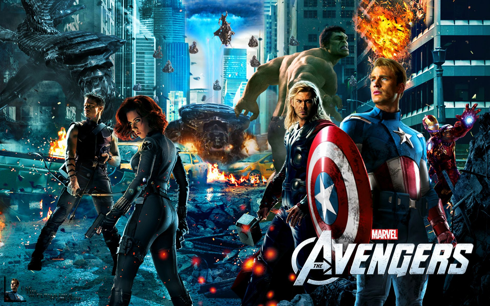 Cool Avengers Wallpapers - Top Free Cool Avengers ...