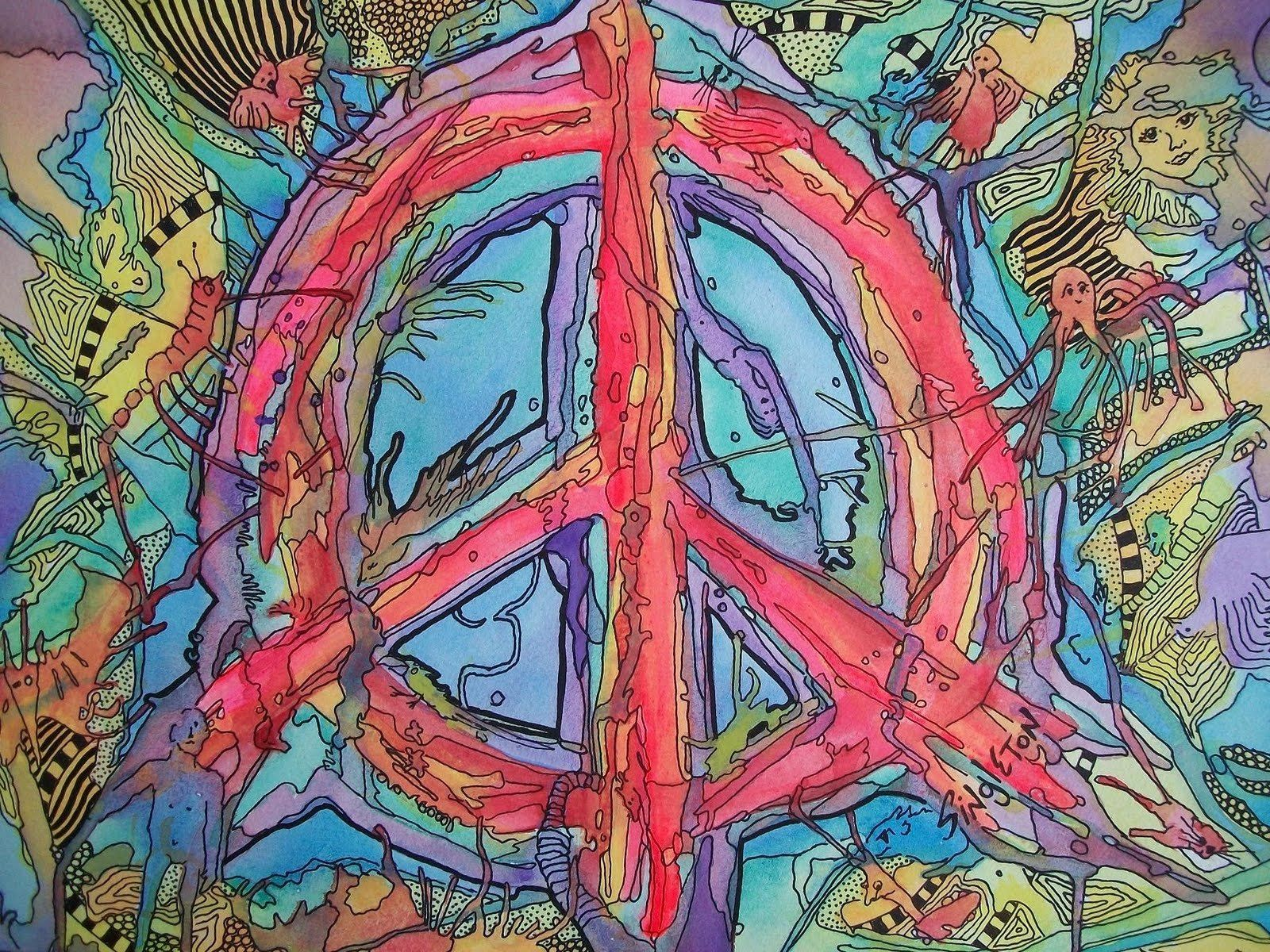 Hippie Peace Wallpapers Top Free Hippie Peace Backgrounds