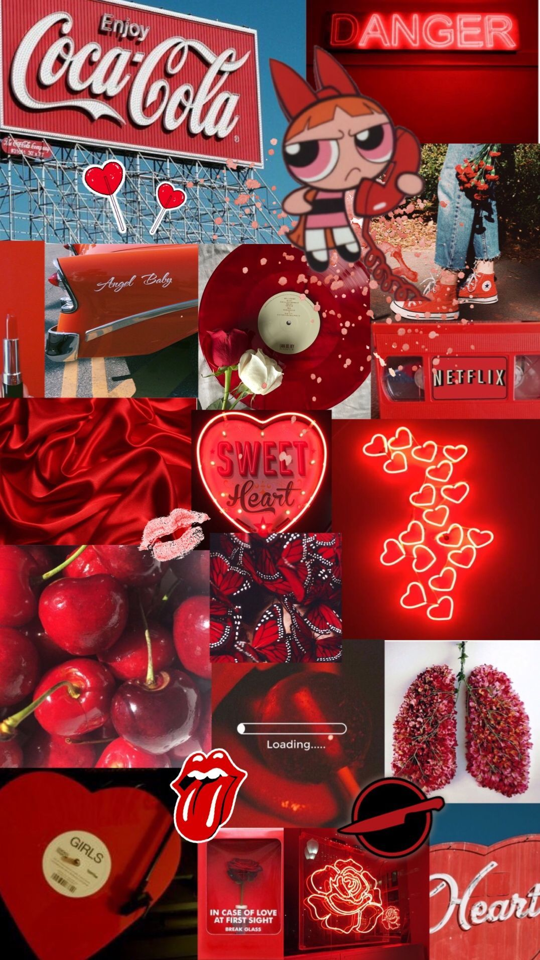Red Collage Wallpapers Top Free Red Collage Backgrounds Wallpaperaccess