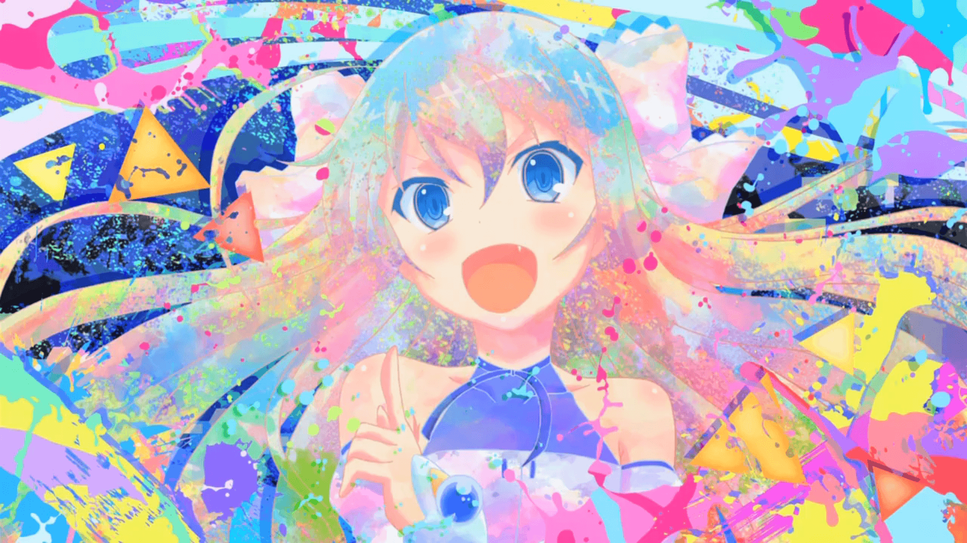 Colorful Anime Wallpapers Top Free Colorful Anime Backgrounds Wallpaperaccess