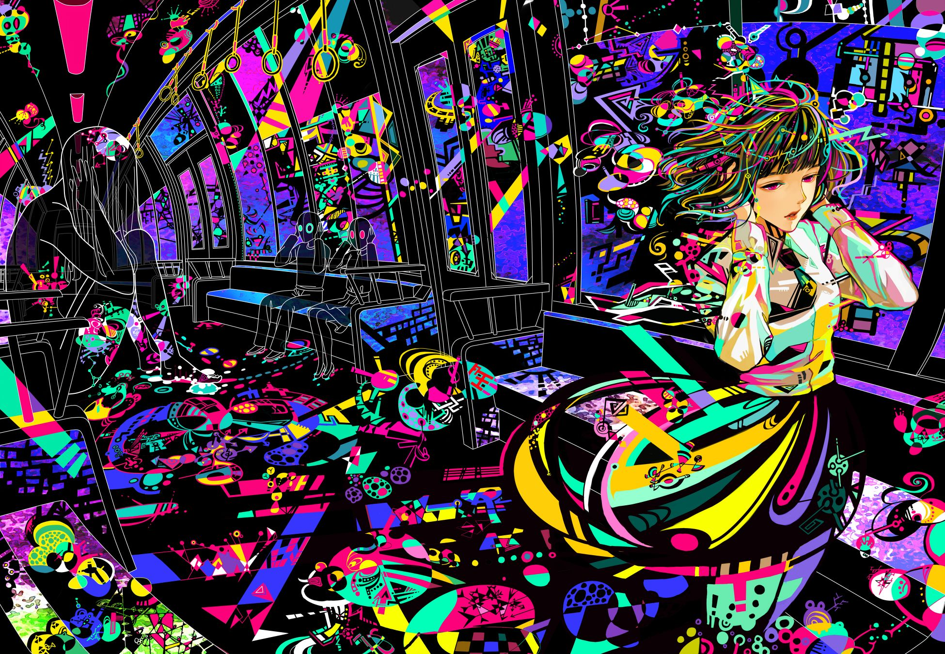 Colorful Anime Wallpapers - Top Free Colorful Anime ...