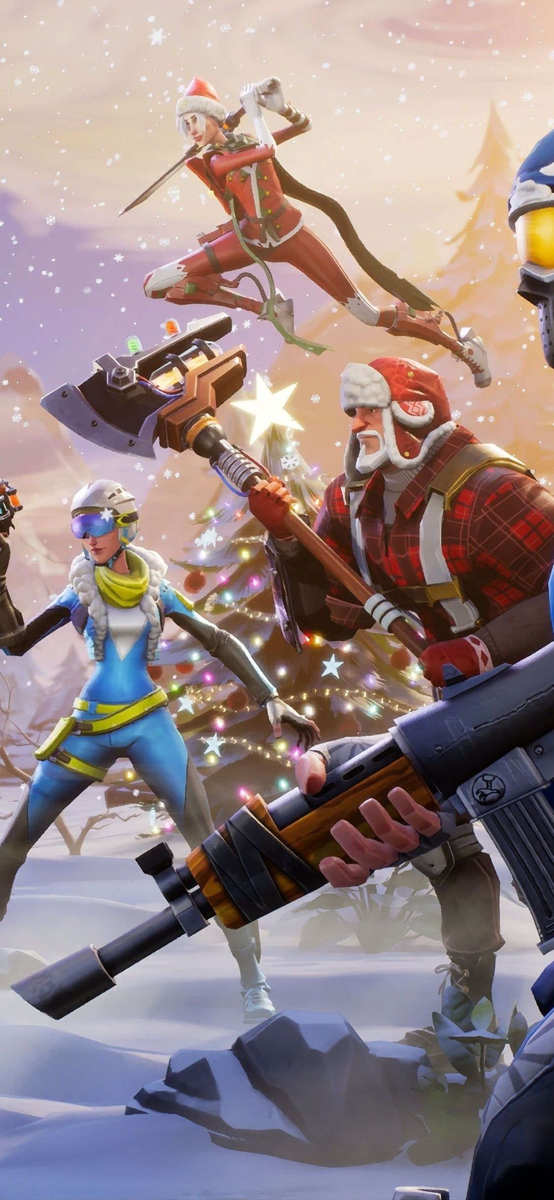 Fortnite X Wallpaper