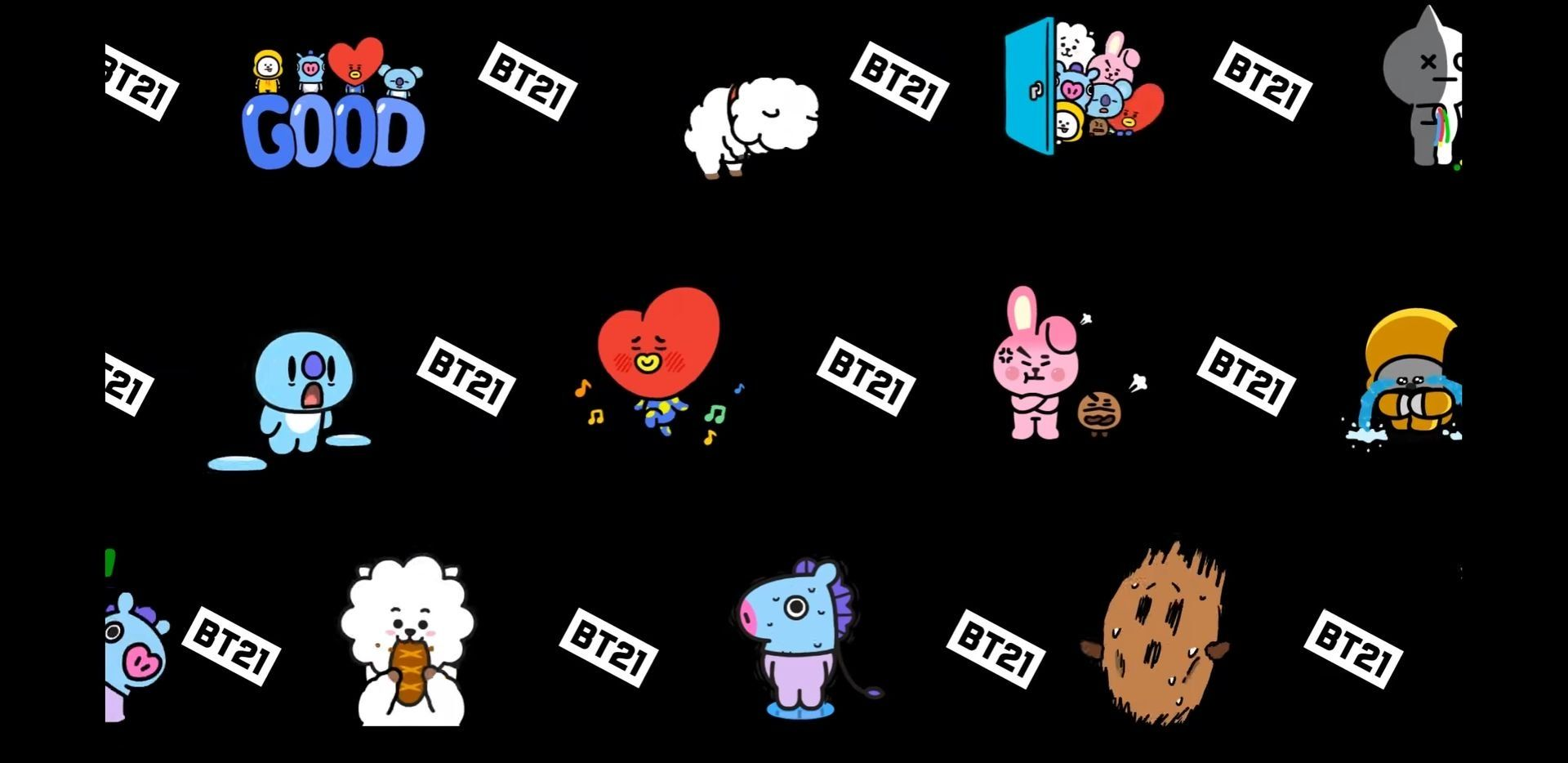BT21 PC Wallpapers - Top Free BT21 PC Backgrounds ...