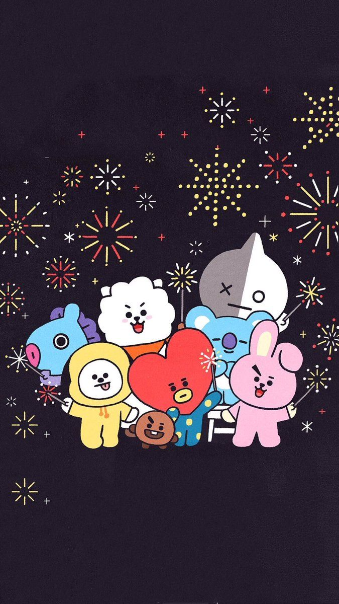 Chimmy Bt21 Wallpapers Top Free Chimmy Bt21 Backgrounds