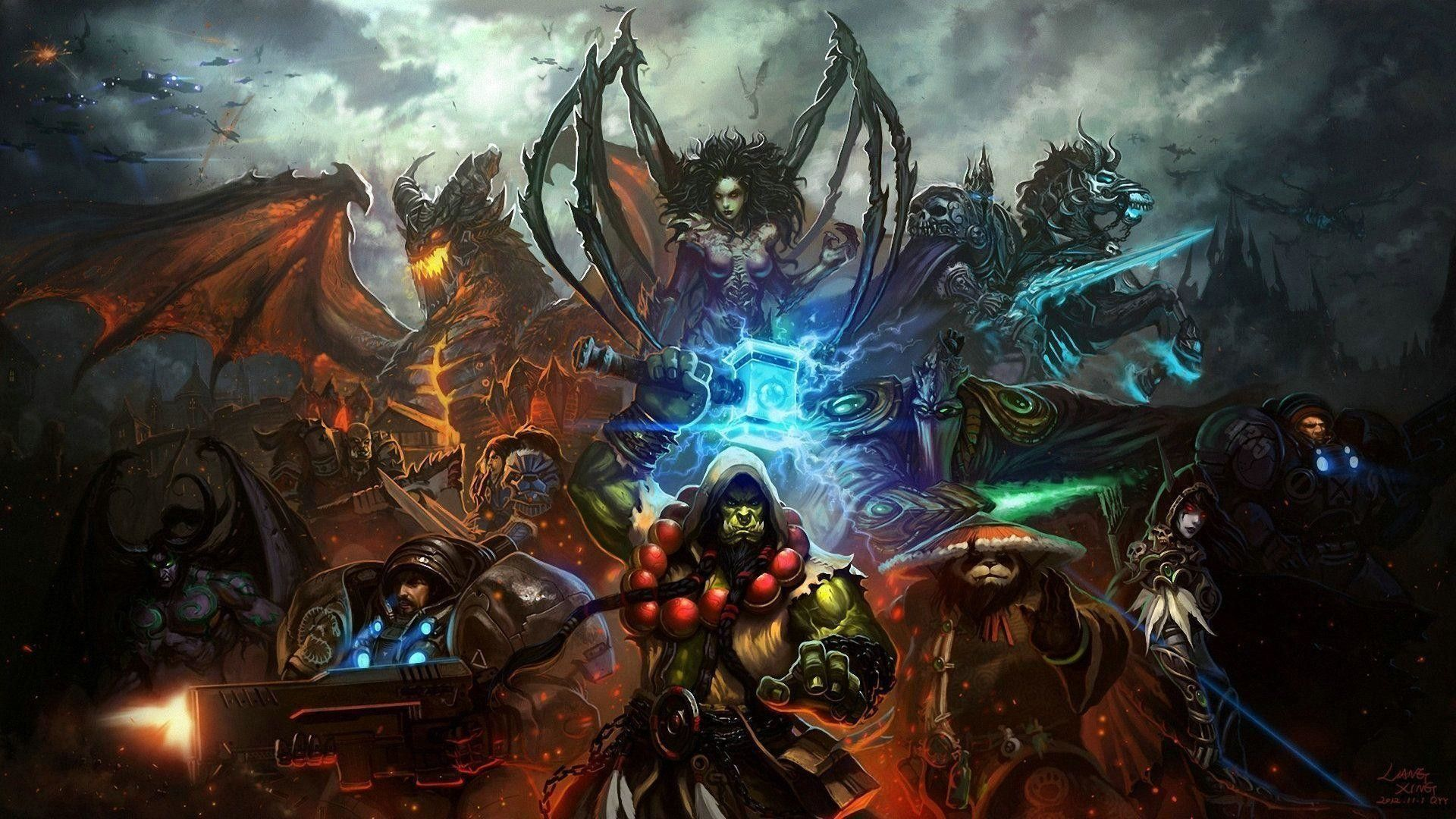 Blizzard Wallpapers Top Free Blizzard Backgrounds Wallpaperaccess