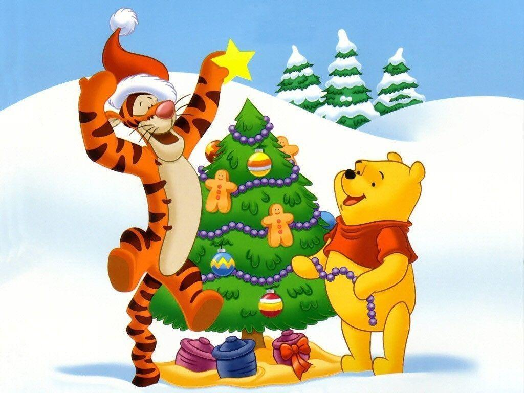Winnie The Pooh Christmas Wallpapers Top Free Winnie The Pooh