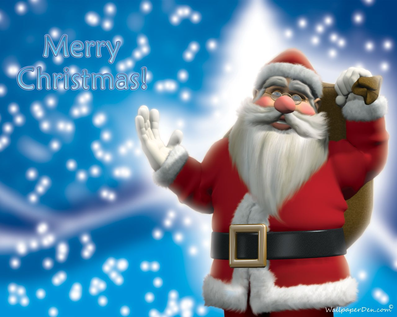christmas santa wallpapers top free