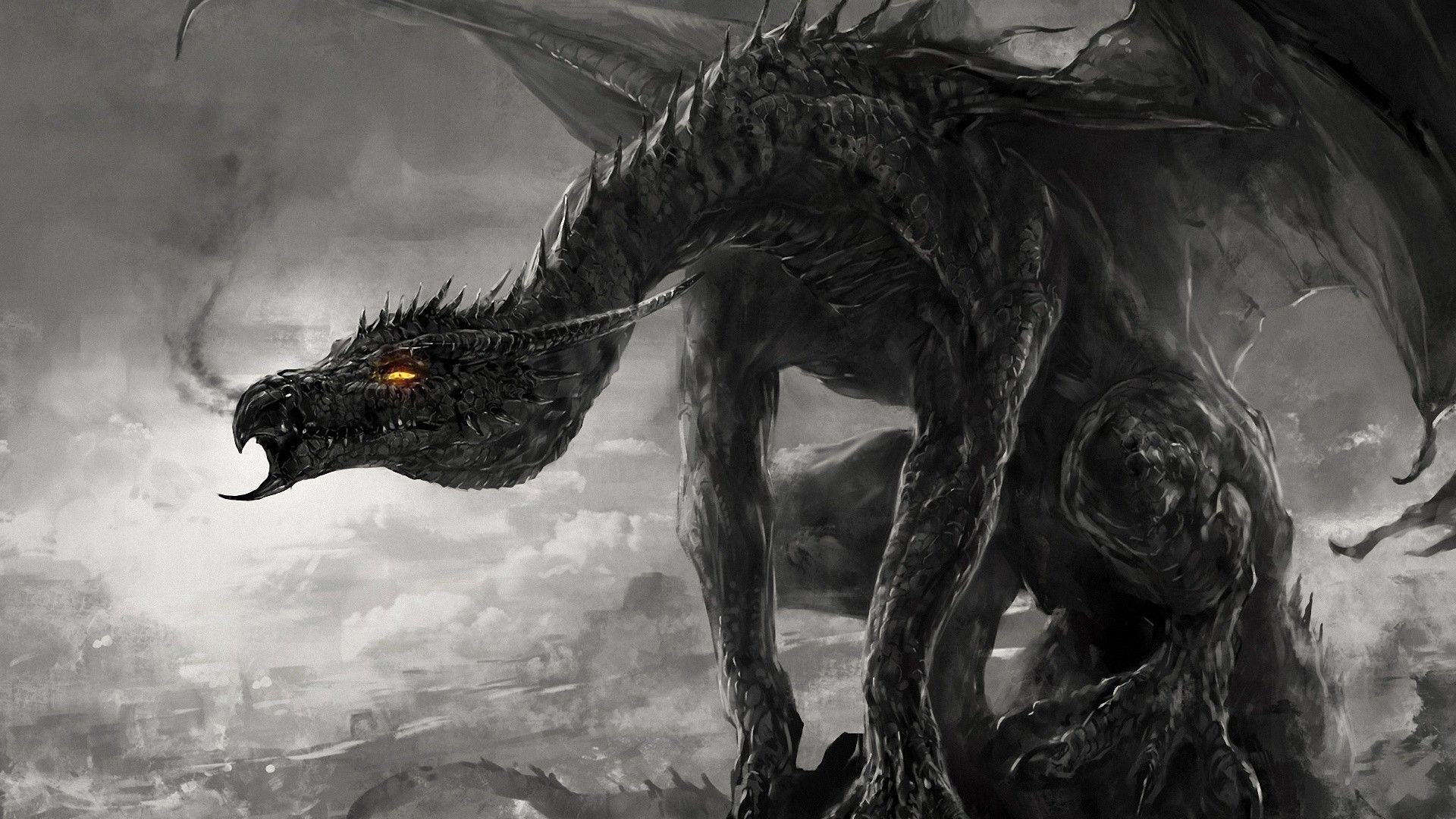 Gothic Dragon Wallpapers Top Free Gothic Dragon Backgrounds