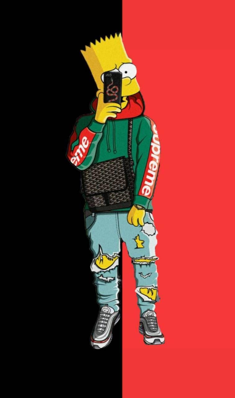 Supreme Bart Wallpapers - Top Free Supreme Bart ...