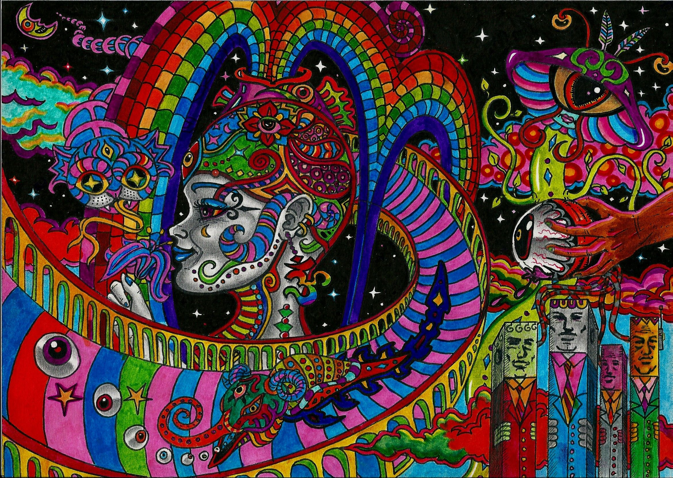 LSD Trip Wallpapers - Top Free LSD Trip Backgrounds