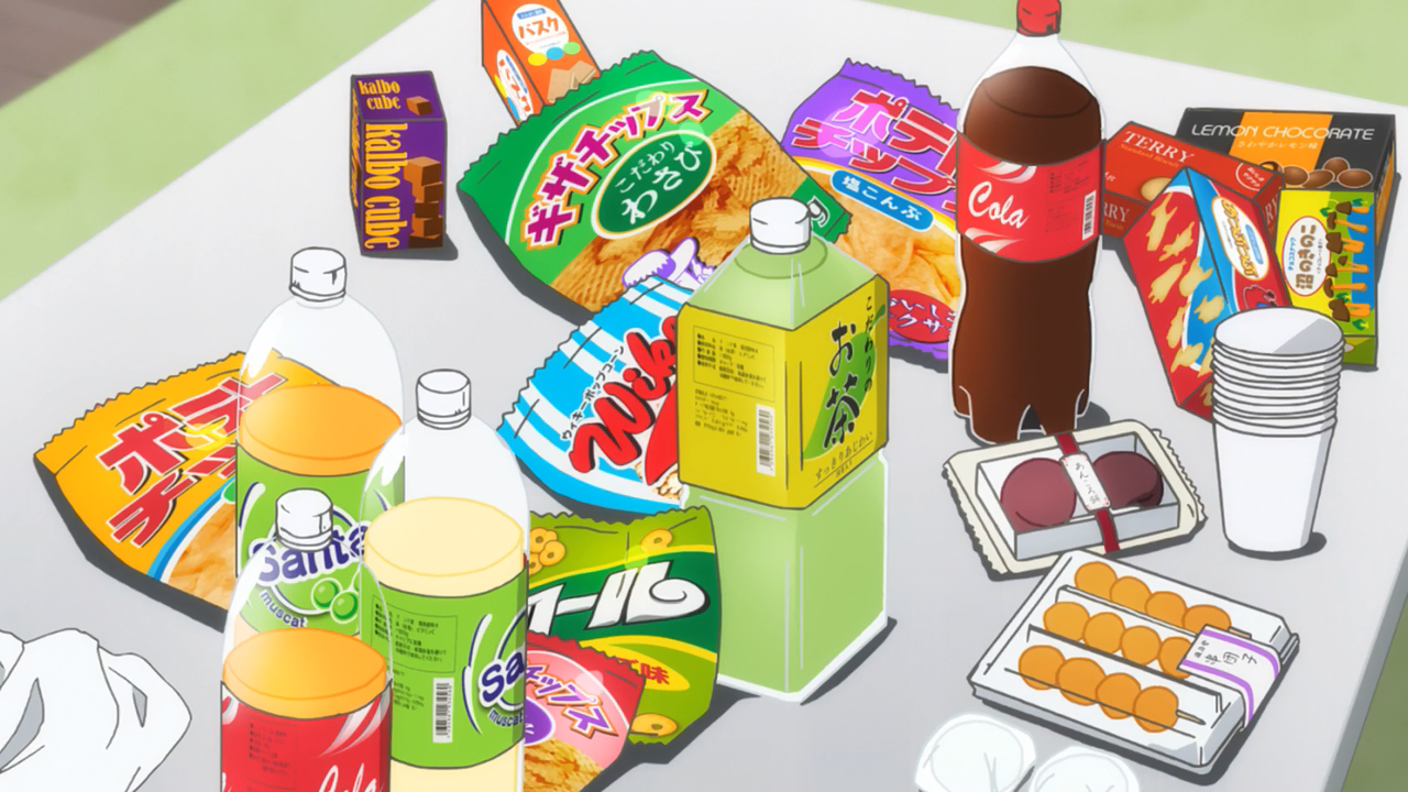 Anime Food Wallpapers Top Free Anime Food Backgrounds Wallpaperaccess