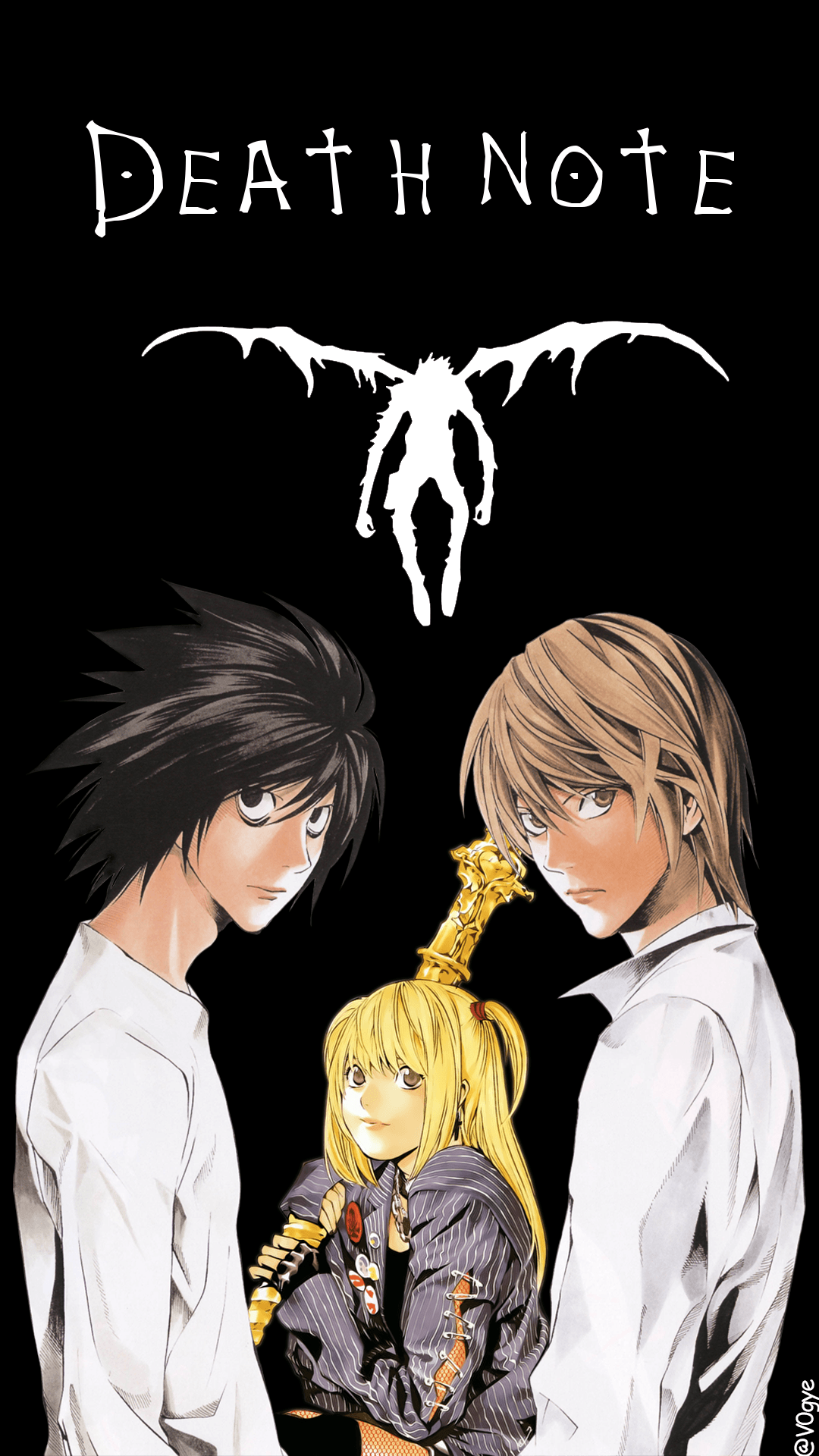 Death Note Phone Wallpapers - Top Free Death Note Phone Backgrounds